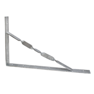 Carinya 500 x 300 x 40mm Heavy Duty Galvanised Stay Bracket
