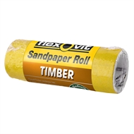 Flexovit 100mm x 1m 40 Grit Timber Sandpaper Roll