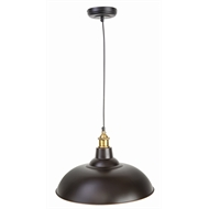 Brilliant 38cm Maxwell Bronze Pendant Light Shade