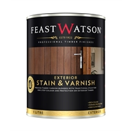 Feast Watson 1L Exterior Stain & Varnish Black Japan