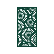 Protector Aluminium 600 x 900mm Profile 25 Decorative Panel Unframed - Dark Green