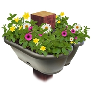 Whites 40cm Charcoal Garden Up Pergola Pot