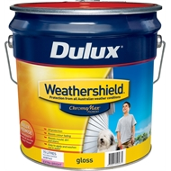 Dulux Weathershield 15L Semi Gloss Extra Bright Exterior Paint