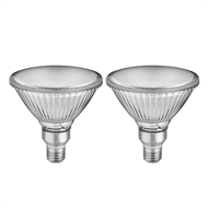 Luce Bella 12W E27 LED Daylight Globe - 2 Pack