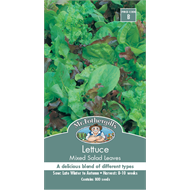 Mr Fothergill's Lettuce Mixed Salad Leaves Vegetable Seeds