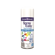 British Paints 310g Spray Easy - Appliance White