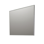Forme 900 x 750 x 20mm Alloy Frame Mirror