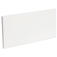 Kaboodle 600mm Modern 1 Drawer Panel - Gloss White