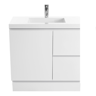 Cibo Design 750mm White Function Slimline Vanity