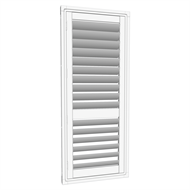 EasyAS 610 x 1500mm White Adjustable Plantation Shutter