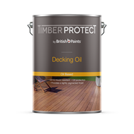 Timber Protect 10L Oil Based Natural Exterior Decking Oil