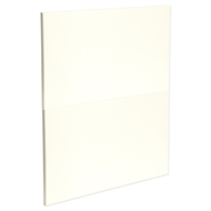 Kaboodle 600mm Antique White Modern 2 Drawer Panels