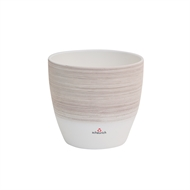 Scheurich 16 x 14cm Vanilla Cream Indoor Glazed Pot