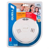 Quell 240V Q1300 Photoelectric Smoke Alarm