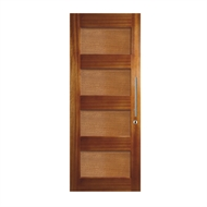 Hume Doors & Timber 2040 x 820 x 40mm Savoy Entrance Door With Timber Panels