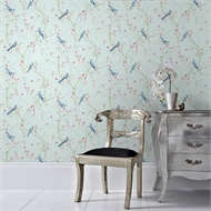 Superfresco Easy 52mm X 10m Songbird Duck Egg Wallpaper