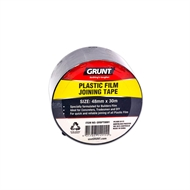 Grunt 48mm x 30m Builders Plastic Film Joining Tape