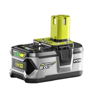 Ryobi 18V  ONE+ 5.0Ah Lithium+ High Capacity Battery