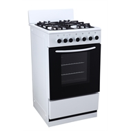 Bellini 50cm Freestanding Gas Cooktop and Electric Oven