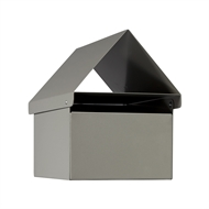 Sandleford Silver Triad Post Mounted Letterbox