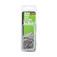 Paslode 30 x 2.0mm 100g Bright Steel Bullet Head Nails - 120 Pack