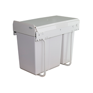 Kimberley Products 10L and 20L Concealed Slideout Slim Twin Kitchen Bin