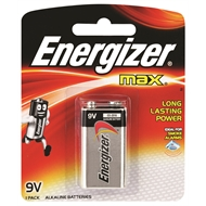 Energizer 9V Max Battery