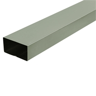 COLORBOND 0.4 x 100 x 50mm x 1.8m Steel Downpipe - Pale Eucalypt