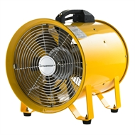 Dynabreeze 200mm Yellow Extraction Fan