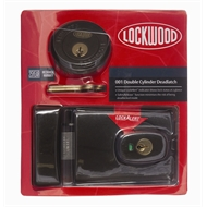 Lockwood Brown Automatic 001 Double Cylinder Deadlatch