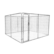 Rapidmesh Galvanised Steel 2-In-1 Dog Run and Kennel