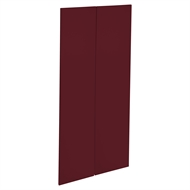 Kaboodle 900mm Seduction Red Modern Pantry Door - 2 Pack