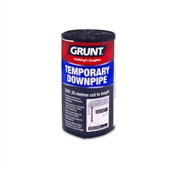 Grunt 25m x 100 Gauge Temporary Polythene Downpipe