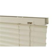Zone Interiors 180 x 210cm 25mm PVC Dawn Venetian Blind - Light Grey