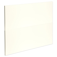 Kaboodle 900mm Antique White Modern 2 Drawer Panels