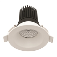 Mercator 12W Warm White 800lm LED White Pixel Fixed Downlight