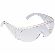 Protector Ultralite Clear Wraparound Safety Glasses
