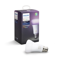 Philips 10W A60 Hue White And Colour Ambiance Extension BC Bulb