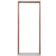 Hume Doors & Timber 2100 x 887 x 140mm Left Hand Weatherguard Pine Frame Entry