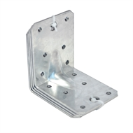 Carinya 90 x 90 x 65 x 2.5mm Galvanised Reinforcing Brackets - 4 Pack
