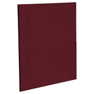 Kaboodle 600mm Seduction Red Heritage 2 Drawer Panels