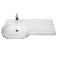 Opal 920 RHS Wall Basin - 3TH