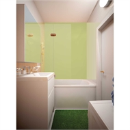 Bellessi 300 x 1200 x 4mm Polymer Bathroom Panel - Cotton Candy
