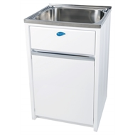 Everhard 45L NuGleam Supreme Laundry Trough And Cabinet