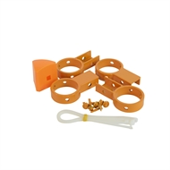 Protector Aluminium Temporary Pool Fence Bracket Pack