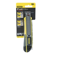 Stanley FatMax 18mm Snap Off Knife With Rubber Grip