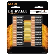 Duracell AAA Batteries - 24 Pack