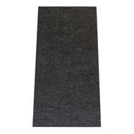 Ideal DIY 2m Econo Ribbed Charcoal Utility Carpet