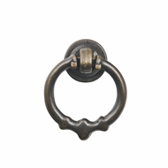 Prestige Small Antique Brass Metal Pull Knob