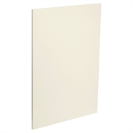 Kaboodle 400mm Custard Glaze Modern Cabinet Door